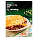 Calories in Sainsbury's Classic Shepherd's Pie