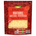 Calories is Asda Grated Mature British Cheddar Rich & Full-Bodied