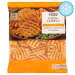 Calories in Tesco Potato Lattices Lightly Spiced