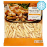 Calories in Tesco Straight Cut Oven Chips Thick & Crispy