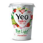 Calories in Yeo Valley Bio Light Strawberry 0% Fat