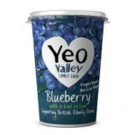 Calories in Yeo Valley Blueberry with a Hint of Lime