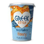Calories in Yeo Valley Greek Style Honey Thick & Creamy 0% Fat