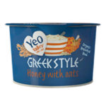 Calories in Yeo Valley Greek Style Honey with Oats