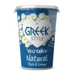 Calories in Yeo Valley Greek Style Natural Thick & Creamy