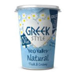 Calories in Yeo Valley Greek Style Natural Thick & Creamy 0% Fat