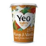 Calories in Yeo Valley Mango & Vanilla