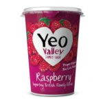 Calories in Yeo Valley Raspberry