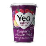 Calories in Yeo Valley Raspberry & Passion Fruit