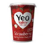 Calories in Yeo Valley Strawberry
