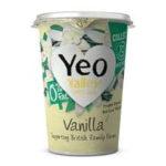 Calories in Yeo Valley Vanilla 0% Fat