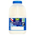 Calories in Asda Whole Fresh Milk From British Farms