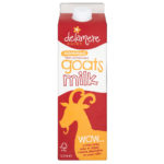 Calories in Delamere Dairy Skimmed Goats Milk