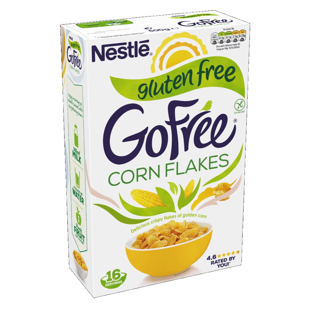 Calories In Nestle Gluten Free Gofree Corn Flakes