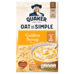 Calories in Quaker Oat So Simple Golden Syrup Flavour Sachets