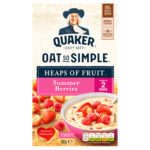 Calories in Quaker Oat So Simple Heaps of Fruit Summer Berries Sachets