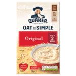 Calories in Quaker Oat So Simple Original Sachets