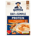Calories in Quaker Oat So Simple Protein Cinnamon Flavour Sachets