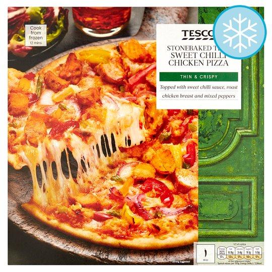 Calories In Tesco Stonebaked Thin Sweet Chilli Chicken