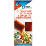 Calories in Weight Watchers Fragrant Soy, Chilli & Ginger Dressing Sachets
