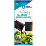 Calories in Weight Watchers Tangy Balsamic Dressing Sachets