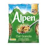 Calories in Alpen Oat Granola Linseeds, Pumpkin & Sunflower Seeds