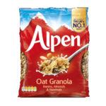 Calories in Alpen Oat Granola Raisins, Almonds & Hazelnuts