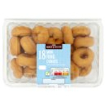 Calories in Asda Baker's Selection 18 Mini Ring Donuts