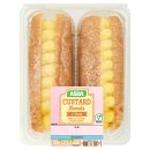 Calories in Asda Custard Donuts 2 Pack
