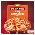 Calories in Asda Deep Pan BBQ Chicken Pizza