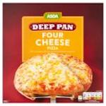 Calories in Asda Deep Pan Four Cheese Pizza