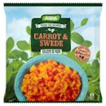 Calories in Asda Frozen for Freshness Carrot & Swede