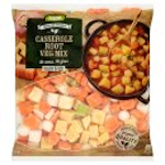 Calories in Asda Frozen for Freshness Casserole Root Veg Mix
