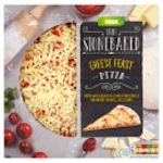 Calories in Asda Thin Stonebaked Cheese Feast Pizza