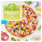 Calories in Asda Ultra Thin Mediterranean Vegetable Pizza