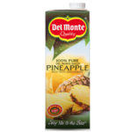 Calories in Del Monte 100% Pure Del Monte Gold Pineapple Juice from Concentrate