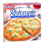 Calories in Dr. Oetker Ristorante Pizza Quattro Formaggi