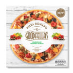 Calories in Goodfella's Pizza Romano Chargrilled Vegetable & Pesto