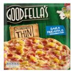 Calories in Goodfella's Stonebaked Thin Ham & Pineapple