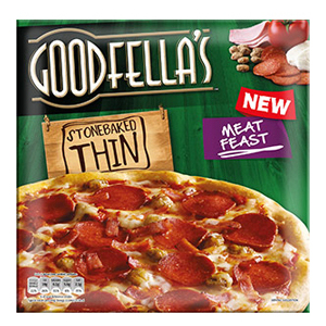 Calories In Goodfellas Stonebaked Thin Meat Feast