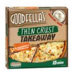 Calories in Goodfella's Thin Crust Takeaway Margherita