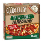 Calories in Goodfella's Thin Crust Takeaway Pepperoni Passione