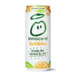 Calories in Innocent Bubbles Sparkling Orange & Lime