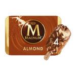 Calories in Magnum Almond Ice Cream Stick