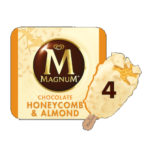 Calories in Magnum Chocolate Honeycomb & Almond Ice Cream Stick