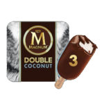 Calories in Magnum Double Coconut Ice Cream Stick