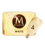 Calories in Magnum White Ice Cream Stick