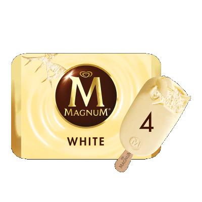 🍨 Calories in Magnum White Ice Cream Stick