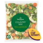 Calories in Morrisons Country Mix Carrots, Cauliflower, Peas, Broccoli and Green Beans