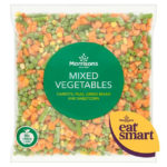 Calories in Morrisons Mixed Vegetables Carrots, Peas, Green Beans and Sweetcorn
